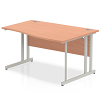 Impulse 1400 Right Hand Wave with Cantilever Leg Beech
