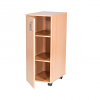 Single Bay Storage Cupboard - 861mm High