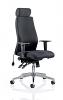 Onyx Ergo Posture Chair With Headrest Black