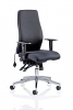 Onyx Ergo Posture Chair Without Headrest Black