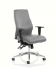Onyx Ergo Posture Chair Bonded Leather Without Headrest Grey