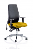 Onyx Without Headrest Bespoke Colour Seat Senna Yellow