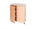 Triple Bay Storage Cupboard – 1107mm High
