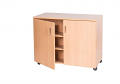 3 Compartment Triple Width Cupboard - 779mm High