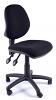 Juno Medium Back Operator Chair - Charcoal - 2