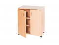 Double Bay Storage Cupboard - 1107mm High
