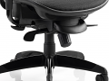 Visitor Black Cantilever Chair Mesh Seat And Mesh Back With Arms