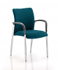 Academy Bespoke Colour Fabric Back and Seat With Arms Maringa Teal