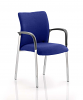 Academy Bespoke Colour Fabric Back and Seat With Arms Stevia Blue