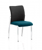 Academy Visitor Chair Fabric Back Without Arms Maringa Teal