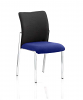 Academy Visitor Chair Fabric Back Without Arms Stevia Blue