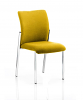 Academy Bespoke Colour Fabric Back With Bespoke Colour Seat Without Arms Senna Yellow