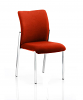 Academy Bespoke Colour Fabric Back With Bespoke Colour Seat Without Arms Tobasco Red