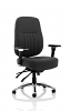 Barcelona Deluxe Office Chair Black