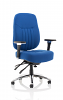 Barcelona Deluxe Office Chair Blue
