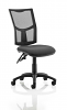 Eclipse 3 Lever Task Operator Chair Black