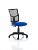 Eclipse 3 Lever Task Operator Chair Blue