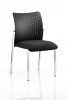Academy Visitor Chair Without Arms Bespoke Seat Black