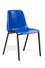 Polly Stacking Visitor Chair Blue