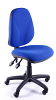 Juno High Back Operator Chair - Blue - 2