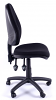 Juno High Back Operator Chair - Black - 1