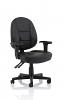 Jackson Black Leather High Back Executive Chair