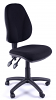 Juno High Back Operator Chair - Black - 2