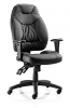 Galaxy Task Operator Chair Black Leather
