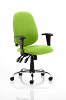 Lisbon Task Operator Chair Myrrh Green