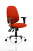 Lisbon Task Operator Chair Tobasco Red