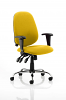 Lisbon Task Operator Chair Senna Yellow