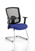 Portland Visitor Cantilever Chair Stevia Blue