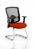 Portland Visitor Cantilever Chair Tobasco Red