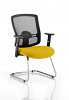 Portland Visitor Cantilever Chair Senna Yellow