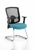 Portland Visitor Cantilever Chair Maringa Teal