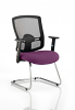 Portland Visitor Cantilever Chair Tansy Purple