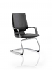 Xenon Visitor Cantilever Chair Black