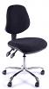 Juno Chrome Medium Back Operator Chair - Charcoal2