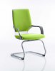 Xenon Visitor Cantilever Chair Myrrh Green