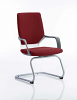 Xenon Visitor Cantilever Chair Ginseng Chilli