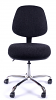 Juno Chrome Medium Back Operator Chair - Charcoal3