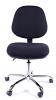 Juno Chrome Medium Back Operator Chair -Black3