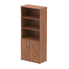Impulse 2000 Cupboard Open Shelves Walnut