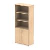 Impulse 2000 Cupboard Open Shelves Maple