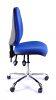 Juno Chrome High Back Operator Chair - Blue1