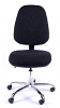 Juno Chrome High Back Operator Chair - Charcoal3