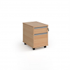 Relax Two Drawer Mobile Pedestal