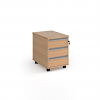 Relax Three Drawer Mobile Pedestal