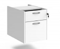 Relax Three Shallow Drawer Fixed Pedestal