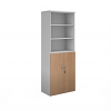 Relax Universal Combination Units With Wood Doors & Open Tops